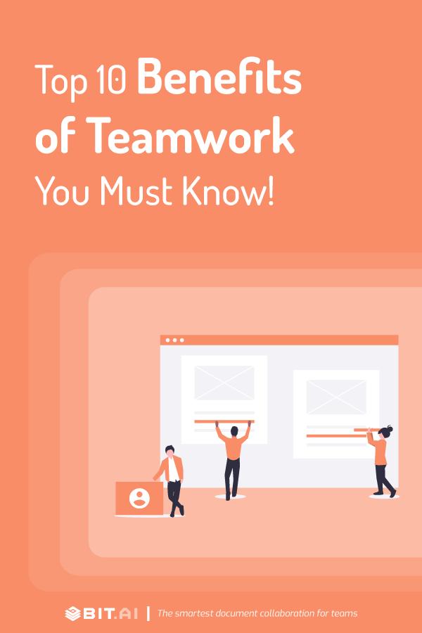 Benefits of teamwork - pinterest