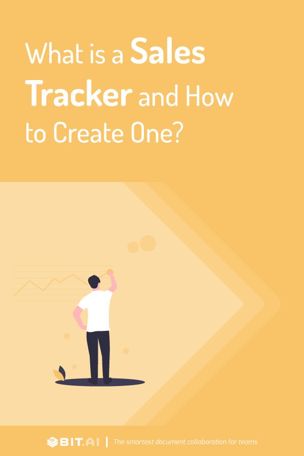 Sales tracker - Pinterest