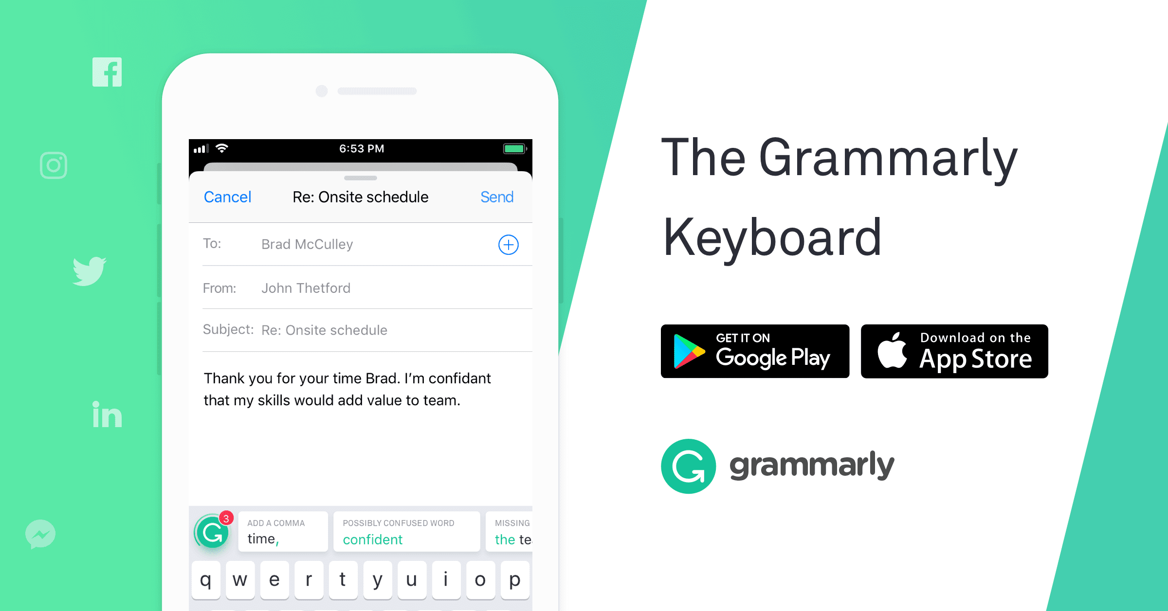 Grammarly: chrome extension