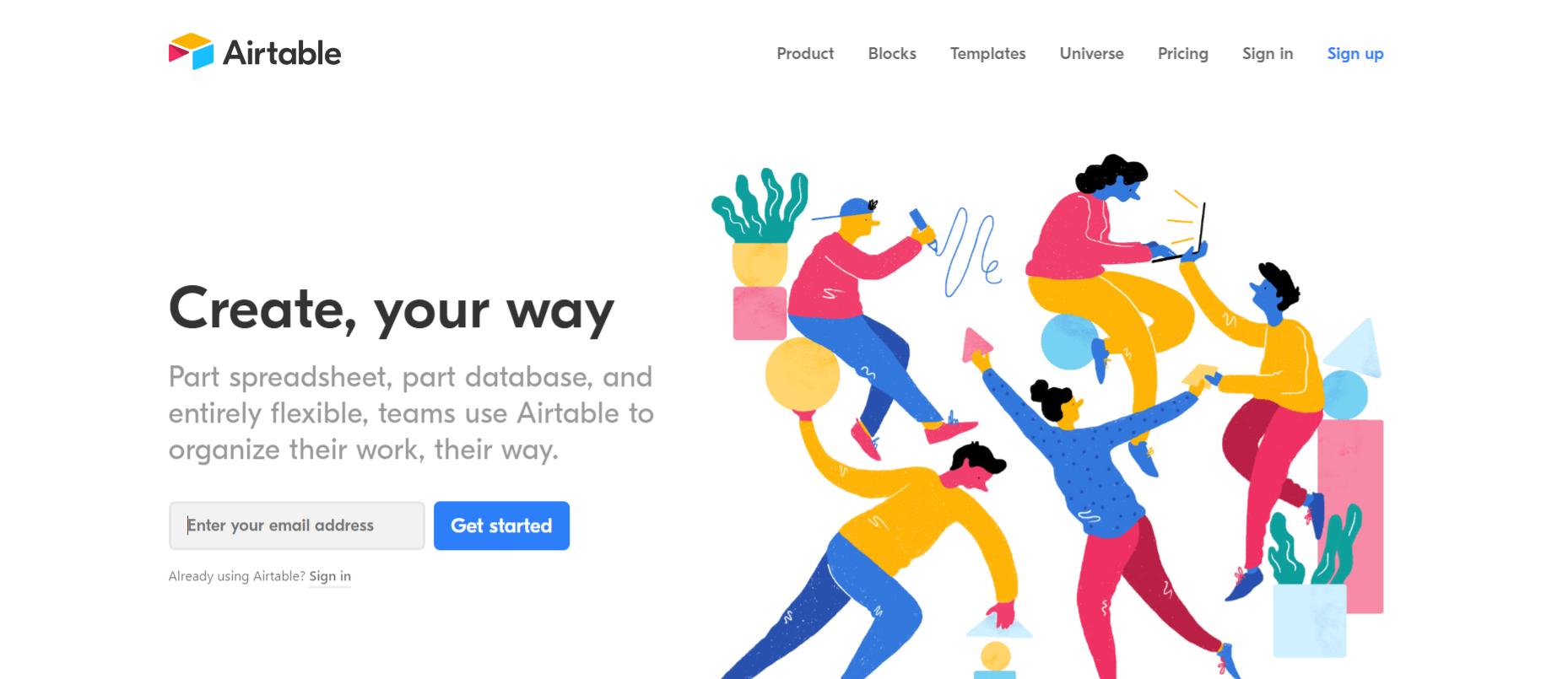Airtable: Microsoft excel alternative