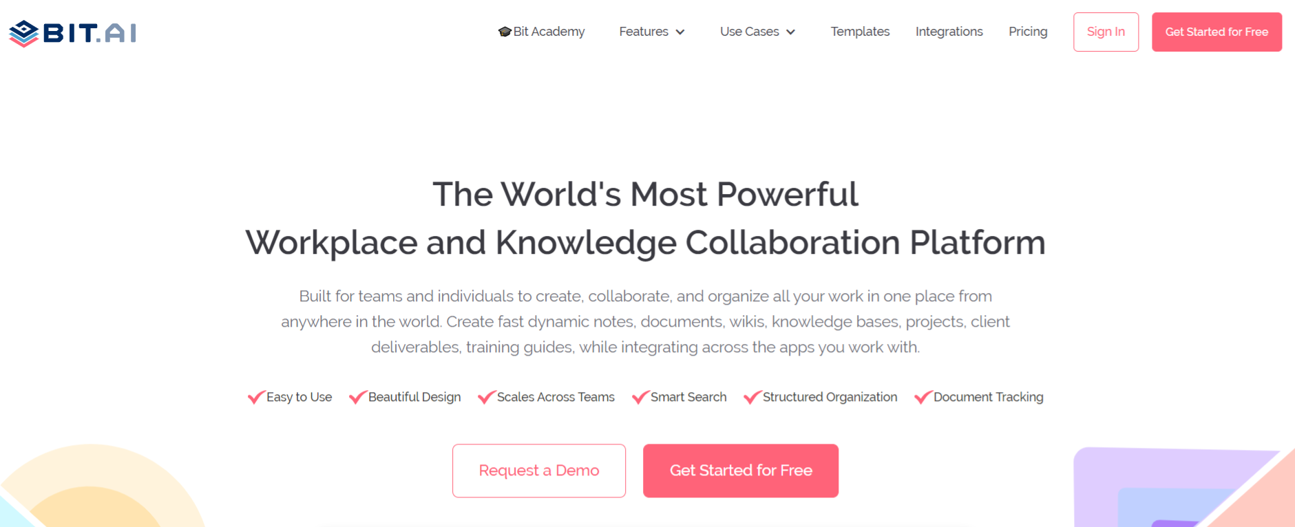 Bit.ai: Tool for creating procurement management plan
