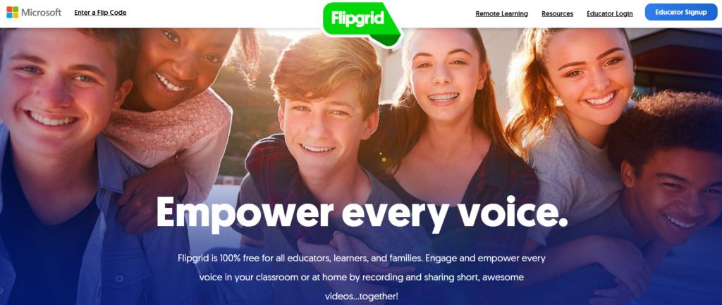 Flipgrid: Student collaboration tool