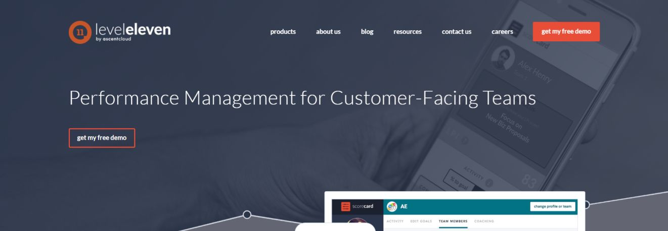 Leveleleven: Sales tool for prospecting