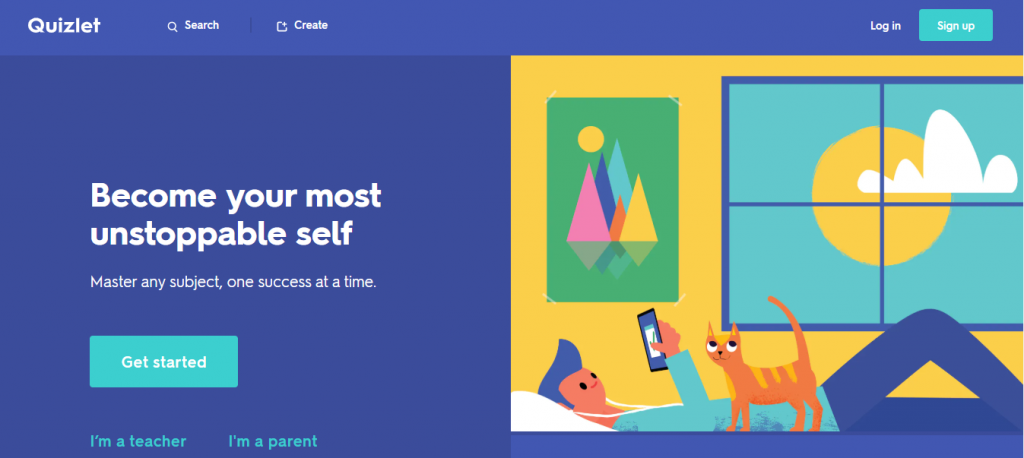 Quizlet: Student collaboration tool