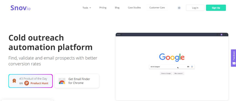 Snov.io: Sales tool for prospecting