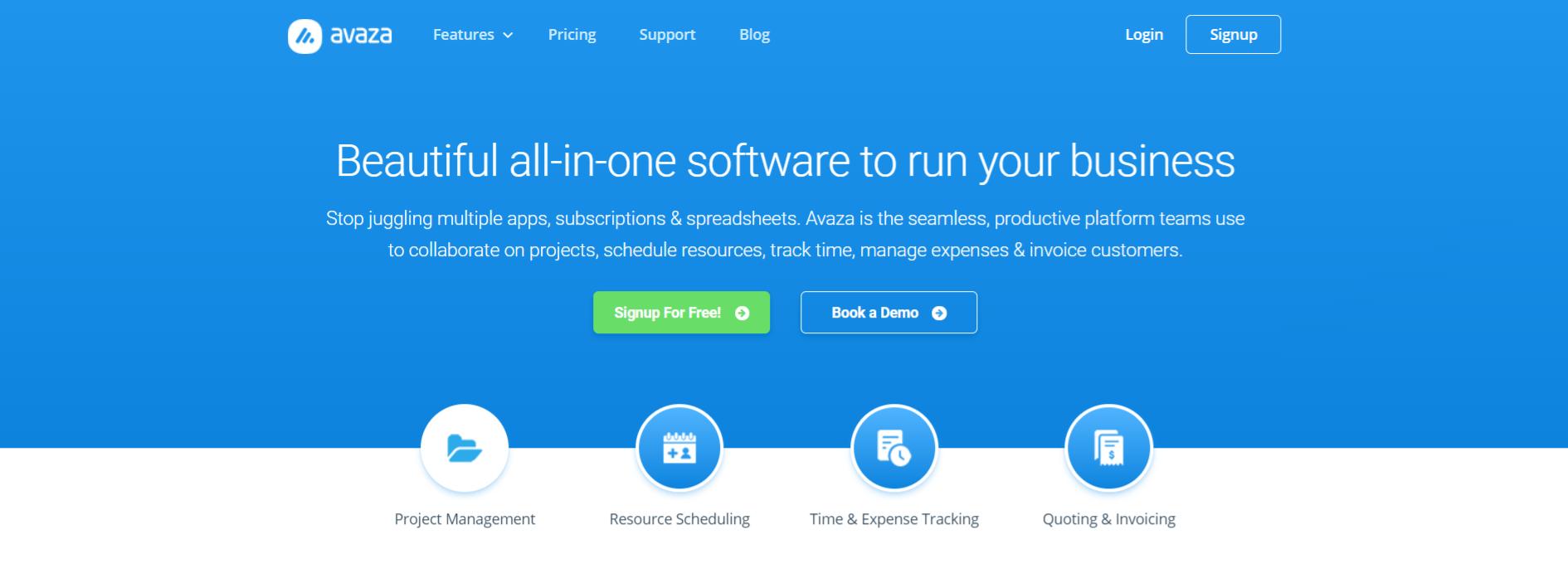 Avaza: Task management tool