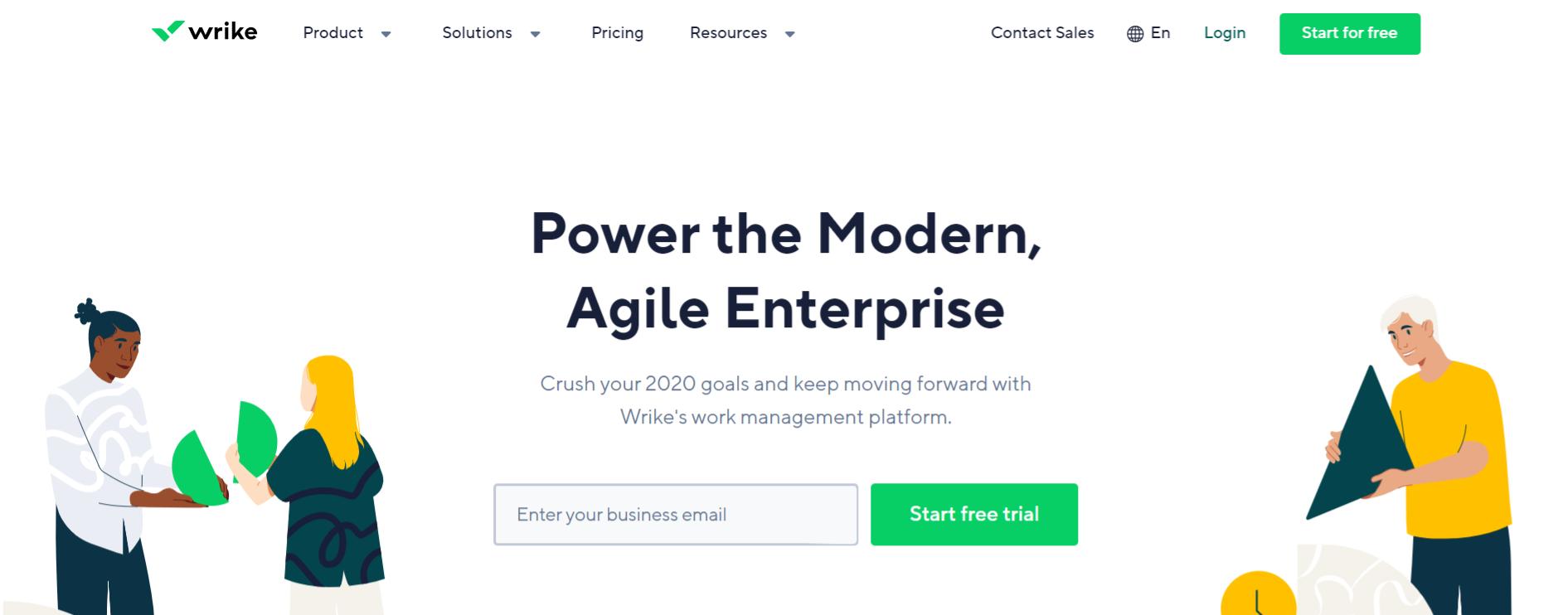 Wrike: Task management tool