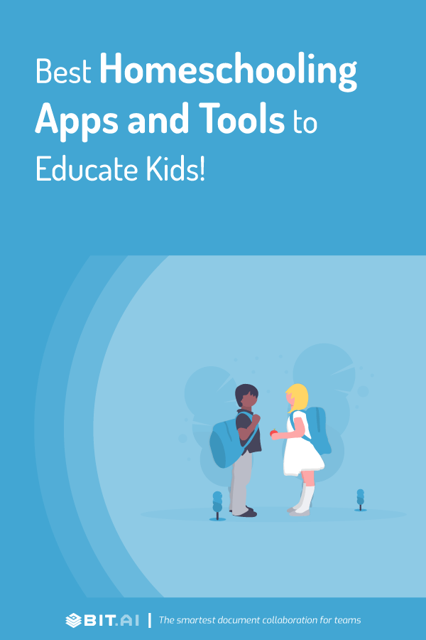 Best homeschooling apps and tools - pinterest