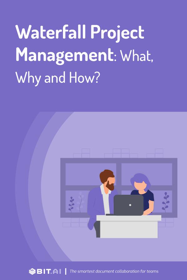 Waterfall project management - pinterest