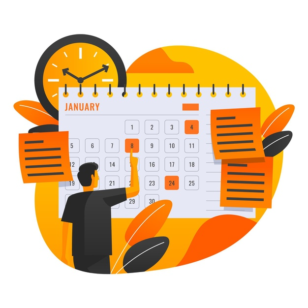 Setting schedule for homeschooling
