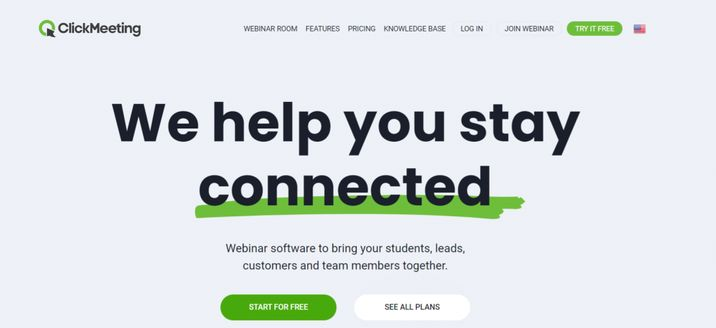 Clickmeeting: Zoom alternative and competitor