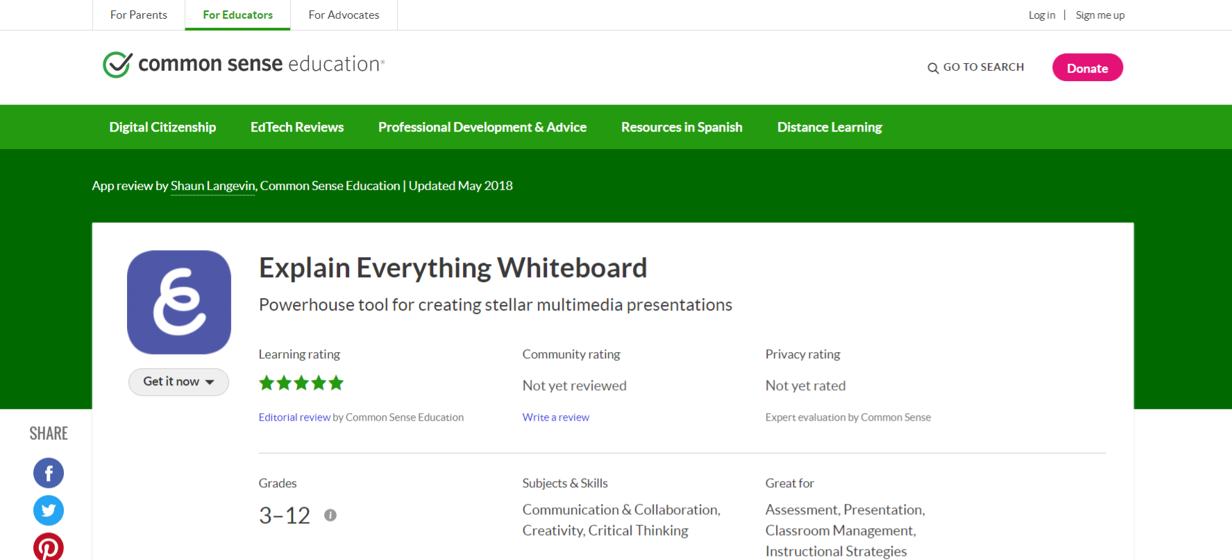 Explain everything whiteboard: Homeschooling app and tool
