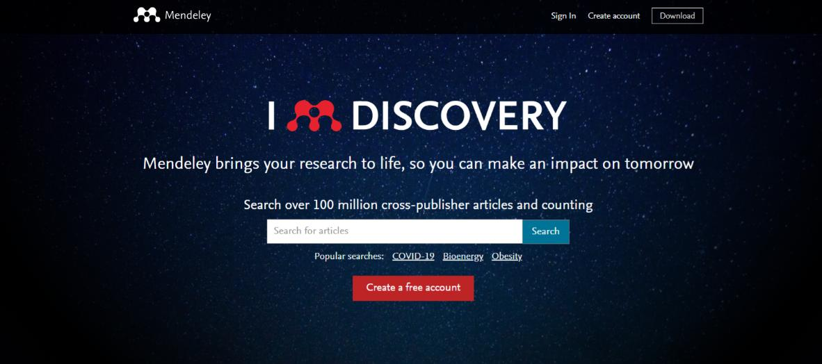 Mendeley: Reference management software for researchers