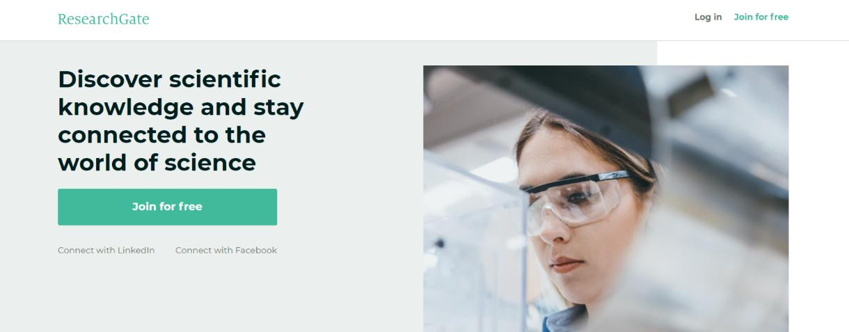 Researchgate tool for research publications