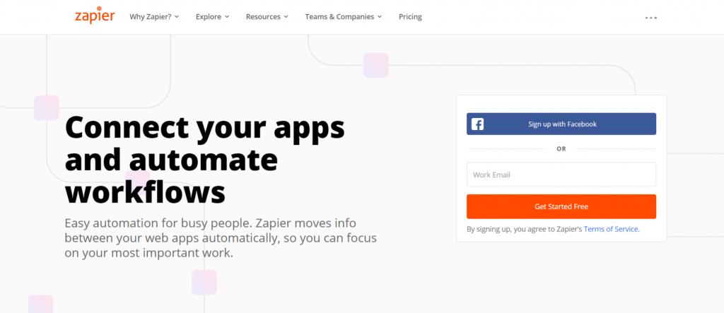 Zapier: Workflow app and tool