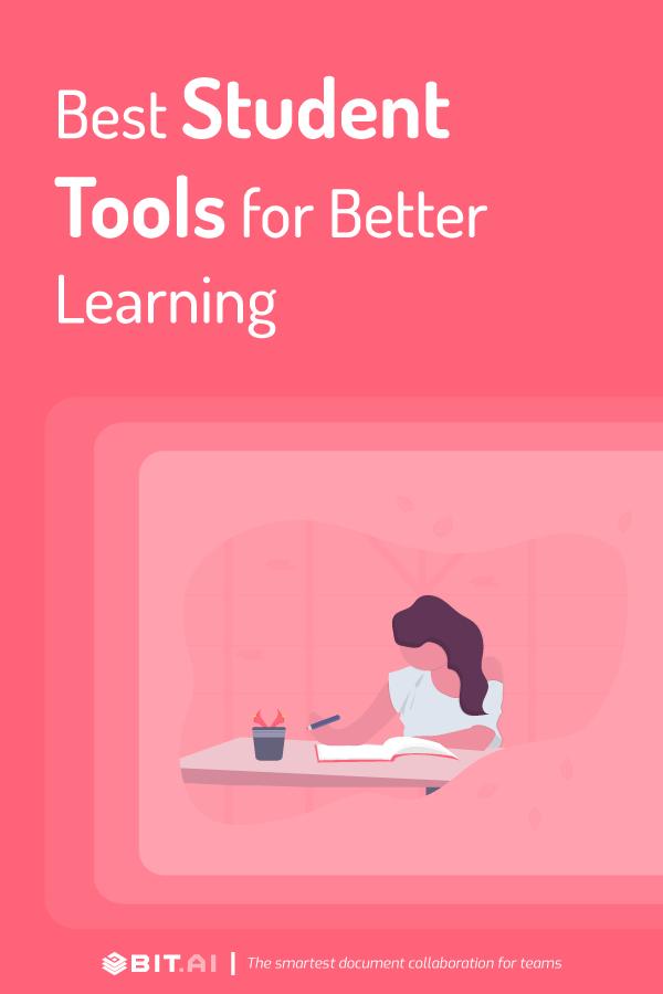 Student tools - Pinterest