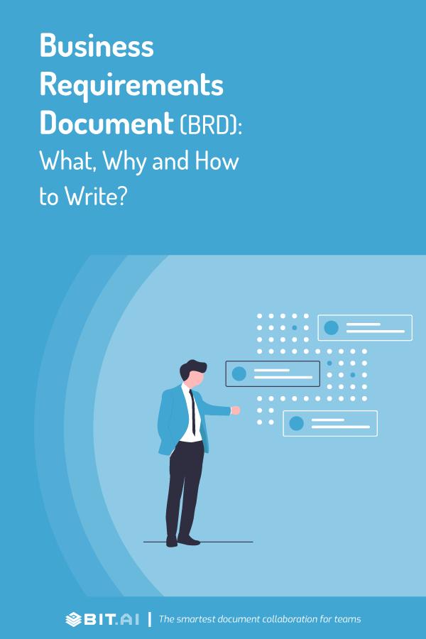 Business requirement document (Brd) - pinterest
