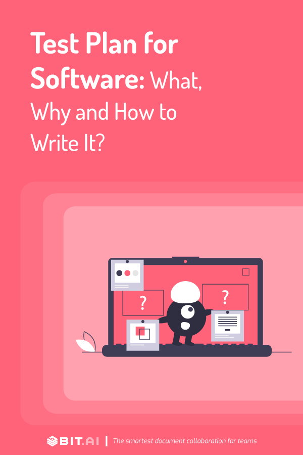 Test plan for software - pinterest