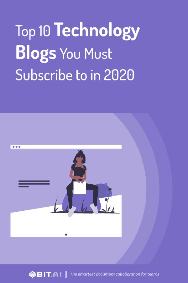 Top technology blogs - Pinterest