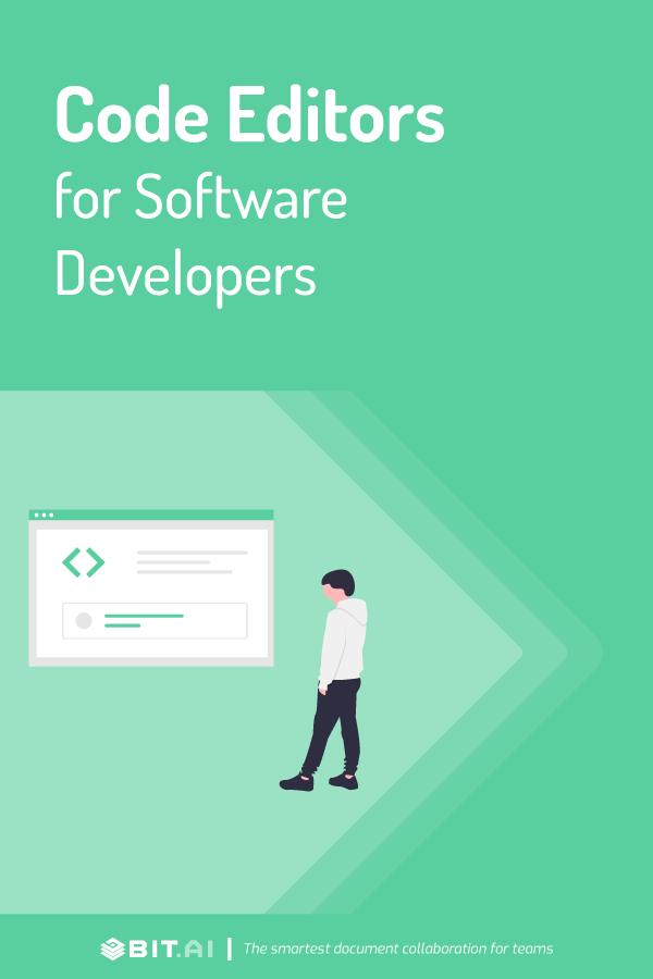 Code editors for software developers - Pinterest