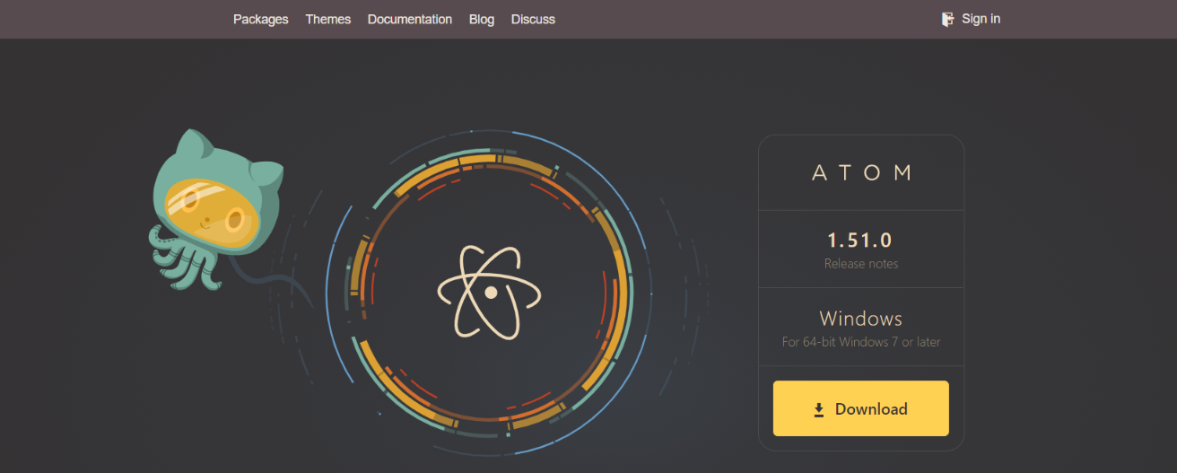 Atom: Code editor for developers