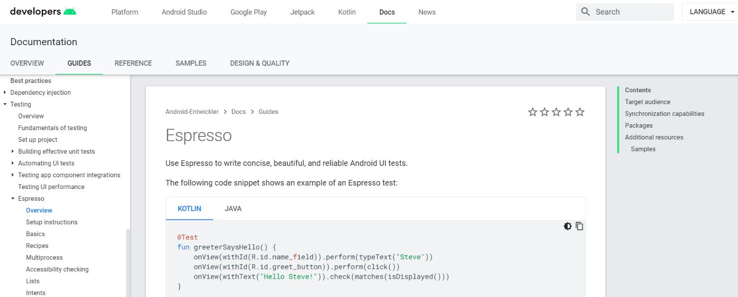 Espresso: Code editor for developers