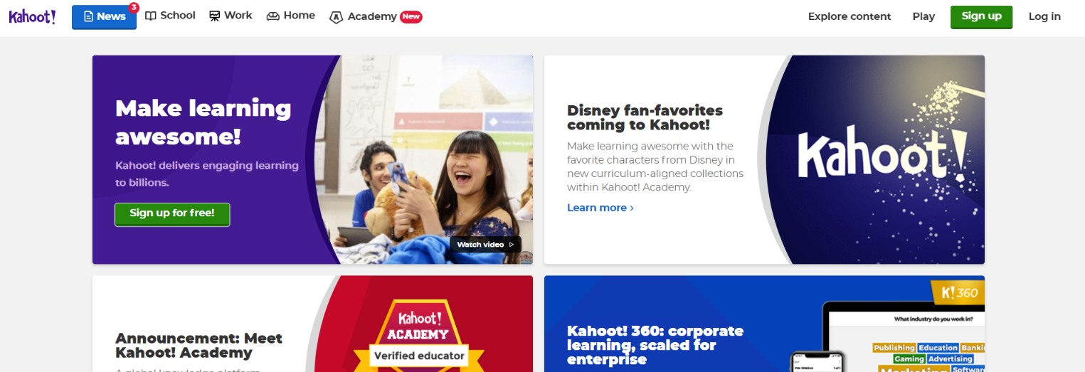 Kahoot: Student Tool for Gamification