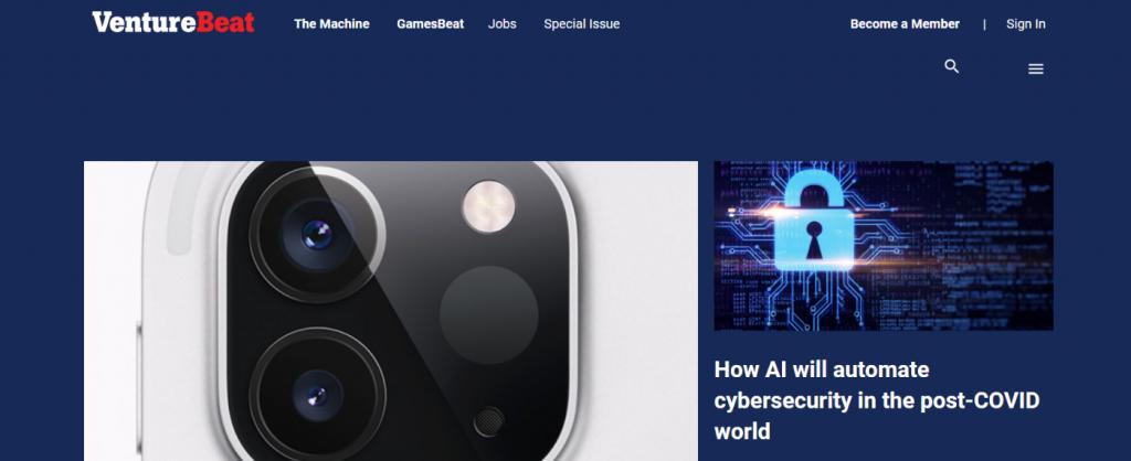 Venturebeat: Technology blog