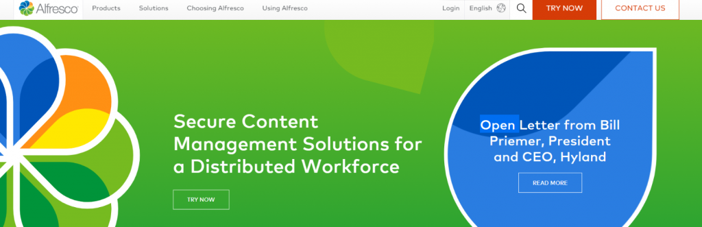Alfresco: File management software and system
