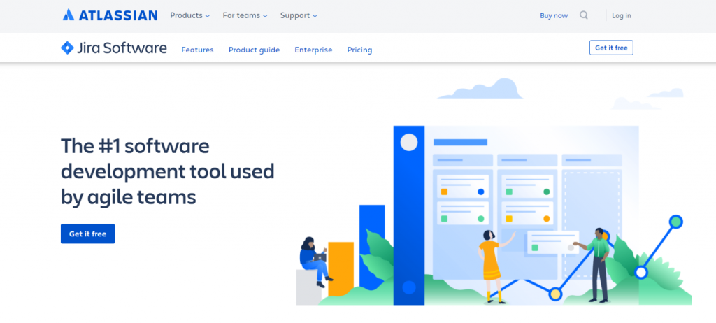Jira: Microsoft project alternative
