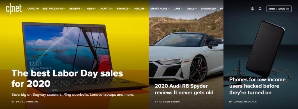 CNET: Technology blog