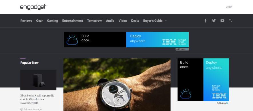 Engadget: Technology blog