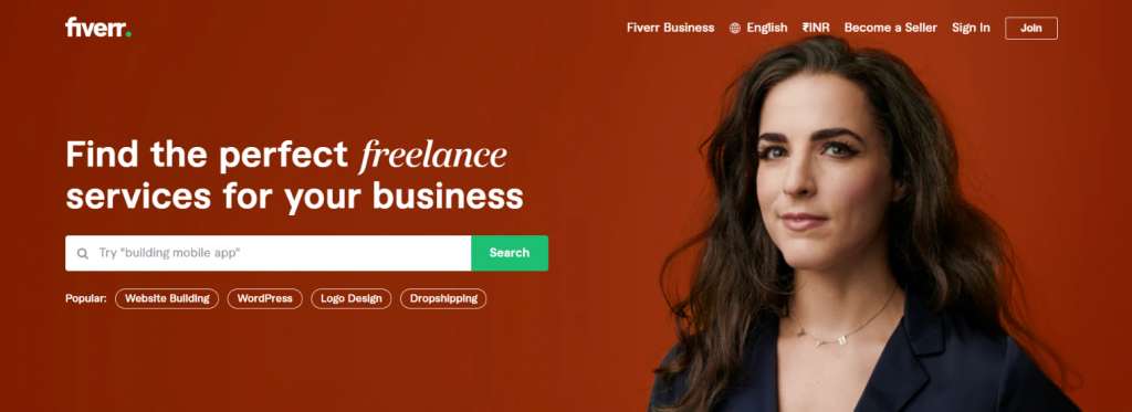 Fiverr: Outsourcing tool for Businesses