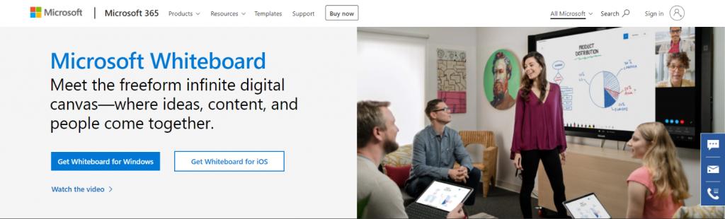 Microsoft Whiteboard: Whiteboard Tool for Businesses