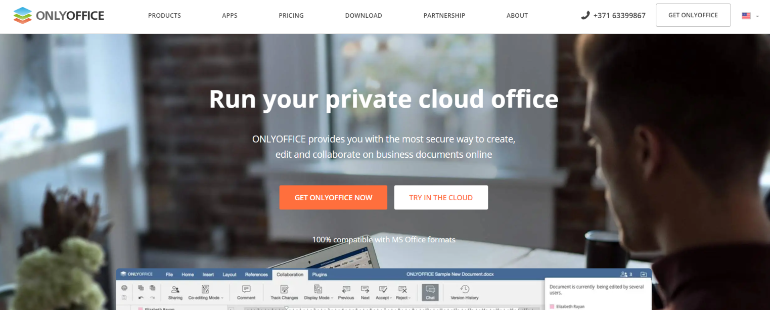 OnlyOffice: File management software and system
