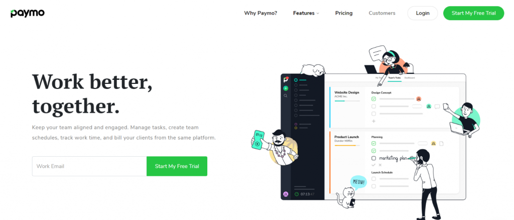 Paymo: Microsoft project alternative