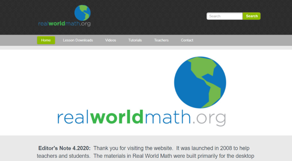 RealWorldMaths: Student Tool for Gamification