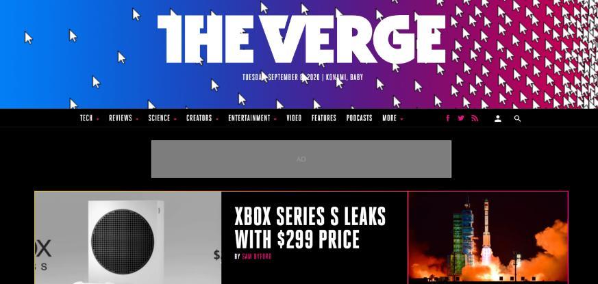 The Verge: Technology blog