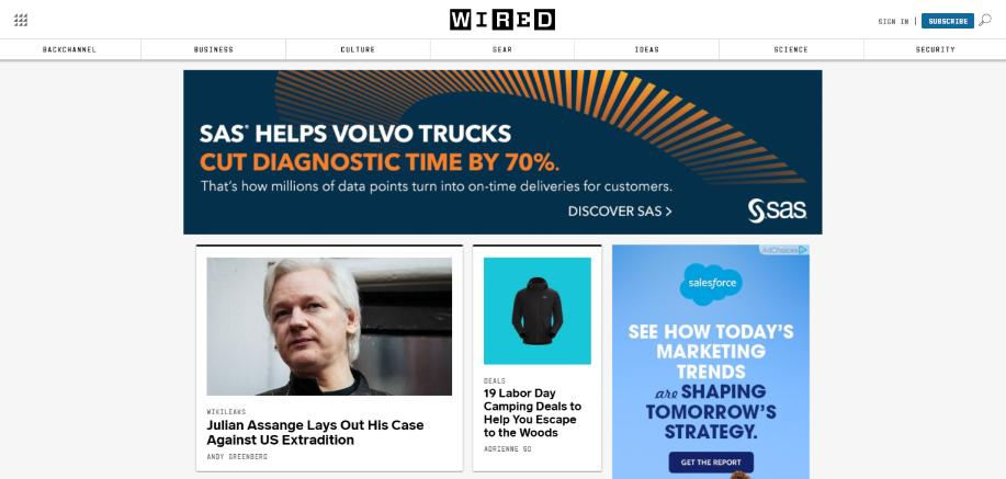 Wired: Technology blog