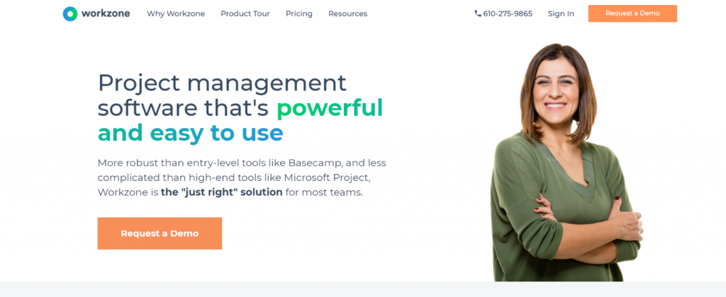 Workzone: Microsoft project alternative