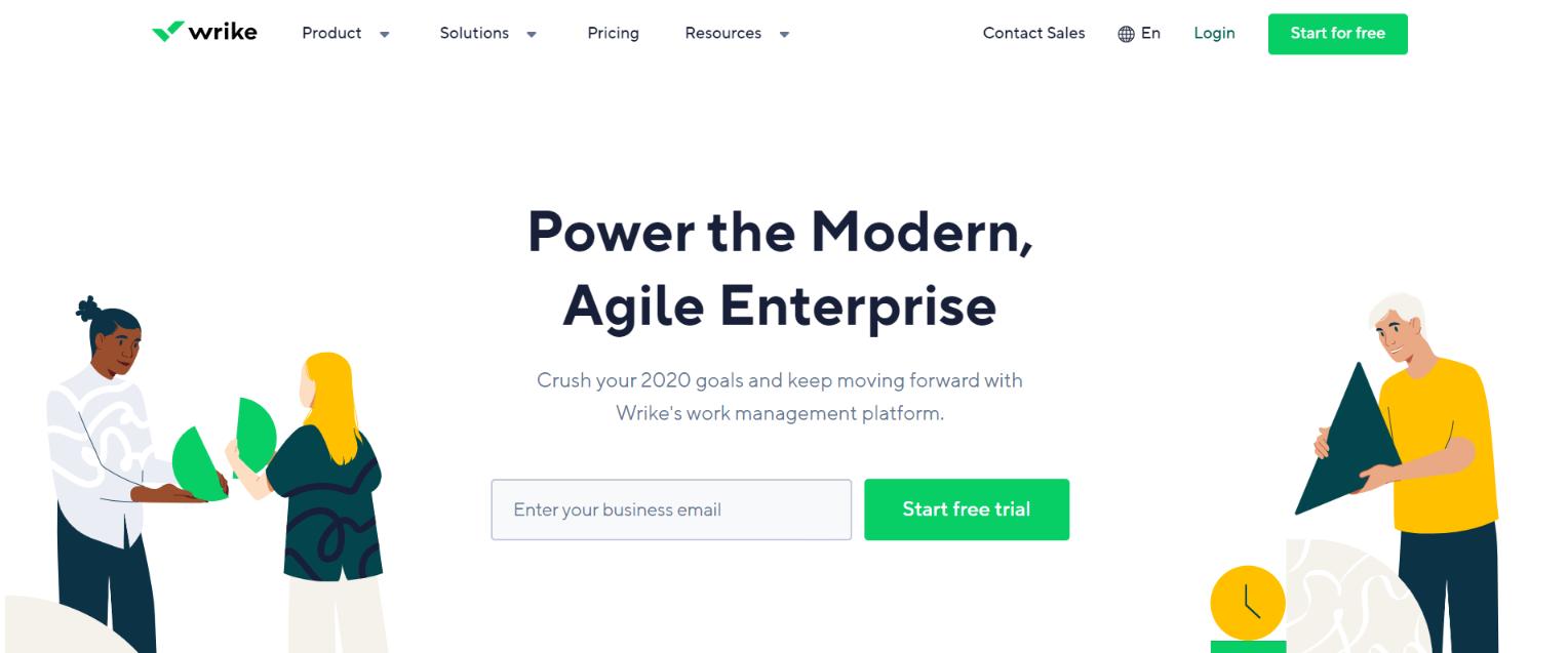 Wrike: Team management software