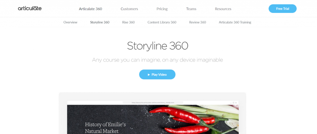 Articulate storyline: Authoring tool