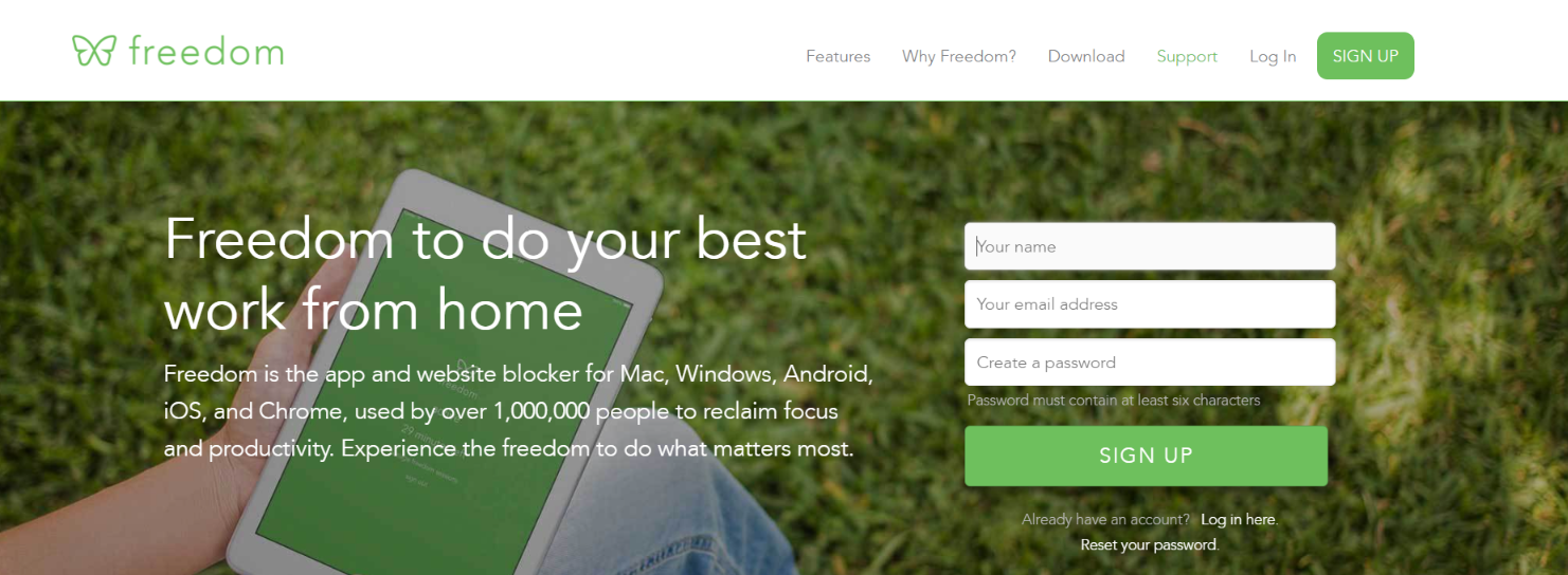 Freedom: Focus app