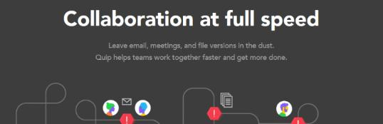 Quip: Collaborative document editing software