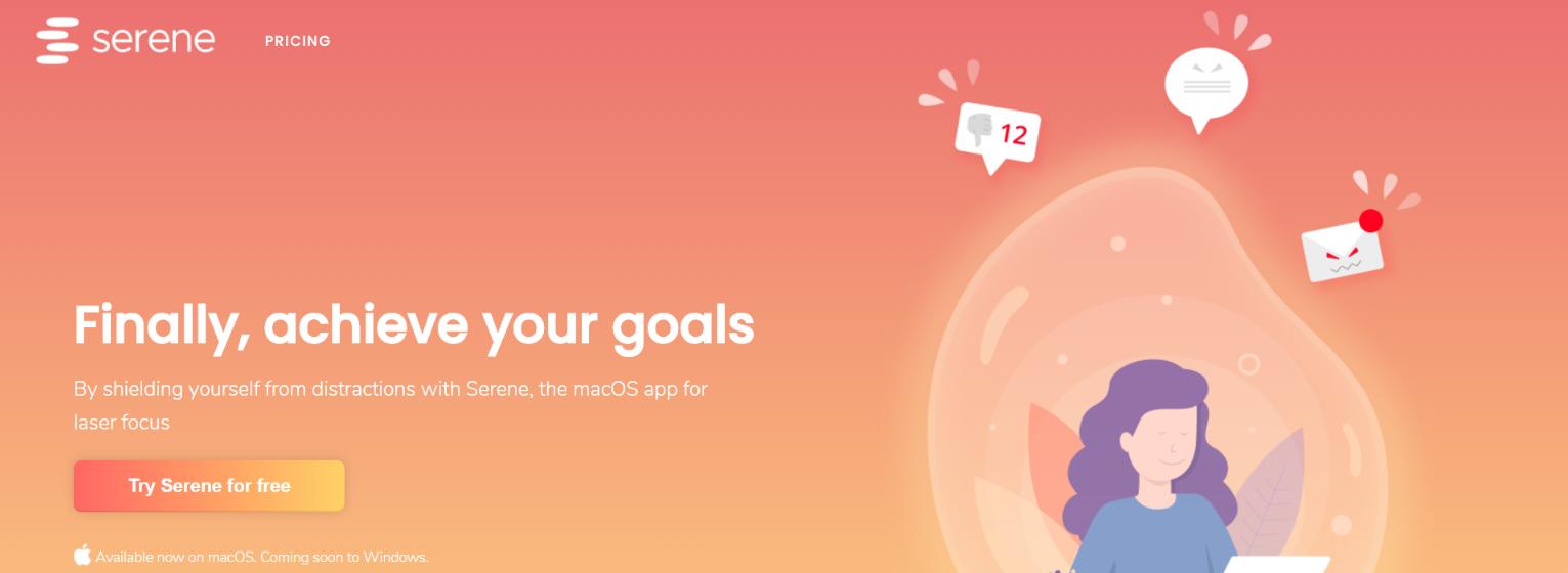 Serene: Focus app