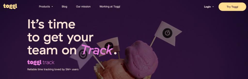 Toggl: Basecamp alternative