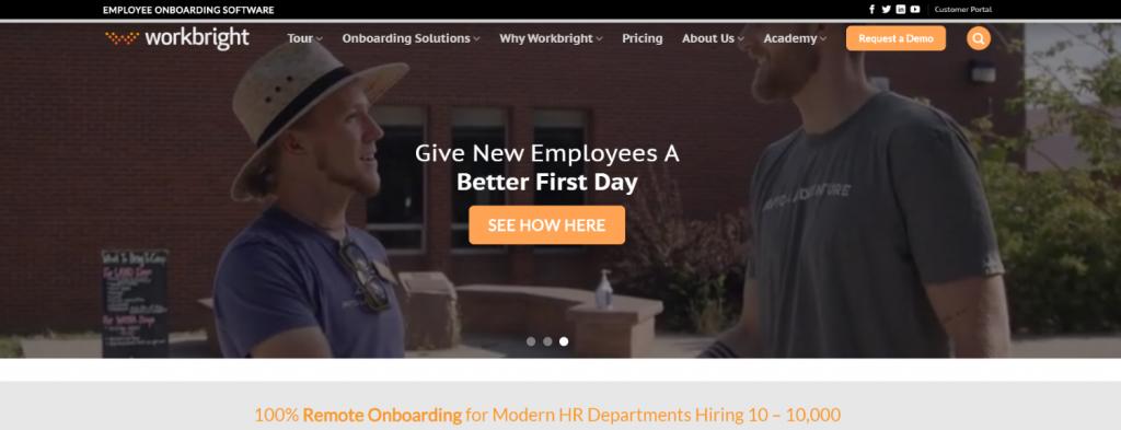 Workbright: Employee onboarding tool