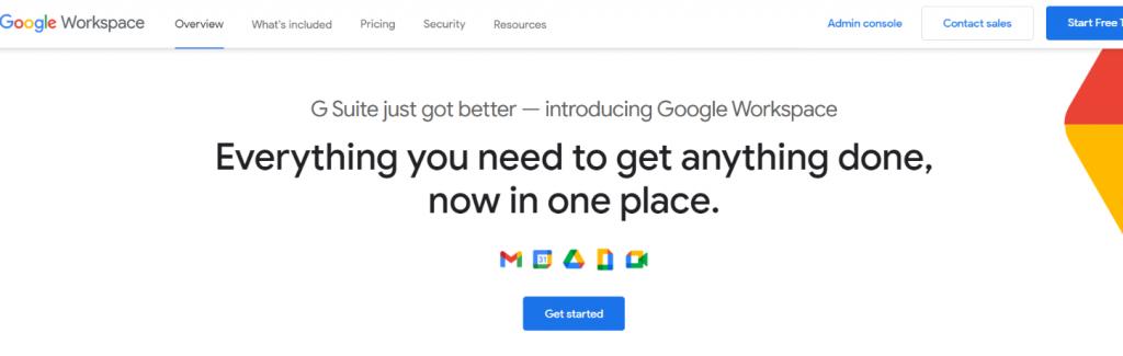 Google suite: Basecamp alternative