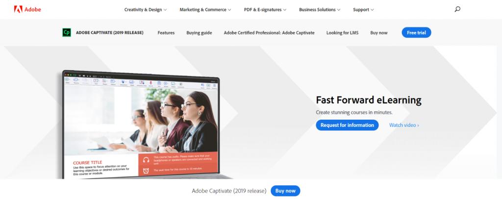 Adobe captivate: Authoring tool