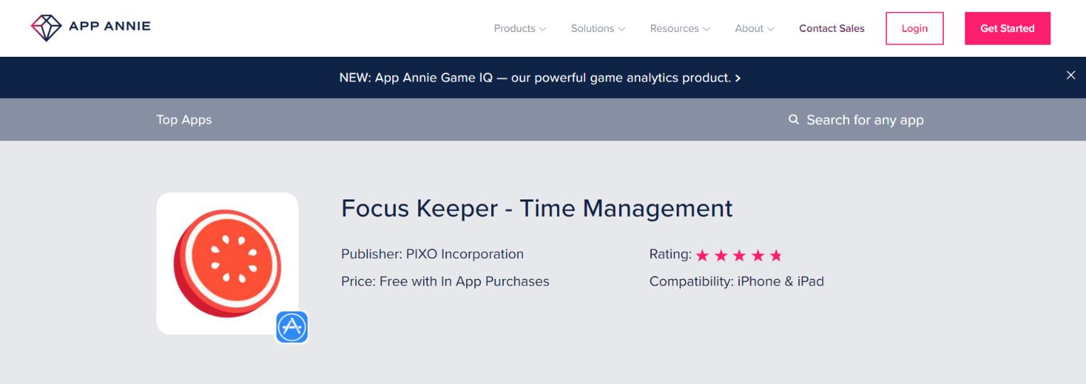 Focus keeper: Focus app